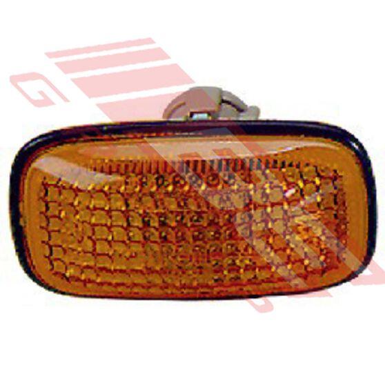 SIDE LAMP - L/H=R/H - AMBER