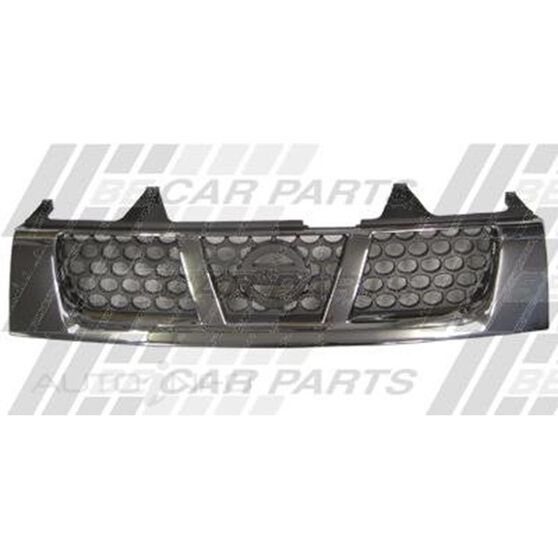 GRILLE - CHROME/BLACK HONEYCOMB