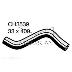RADIATOR UPPER HOSE  - NISSAN X-TRAIL T30 - 2.5L I4  PETROL - MANUAL & AUTO, , scanz_hi-res