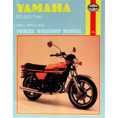 YAMAHA RD400 TWIN 1975 - 1979, , scanz_hi-res