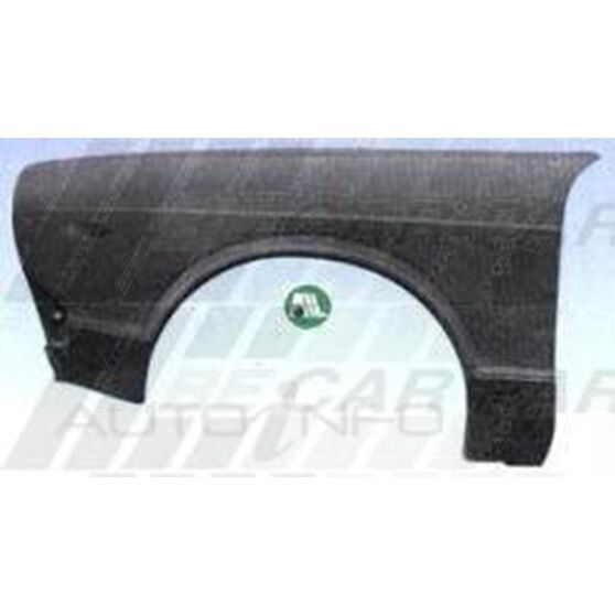 FRONT GUARD - L/H - ROUND H/LAMP