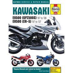 KAWASAKI EX500 (GPZ500S) & ER500 (ER-5), , scanz_hi-res