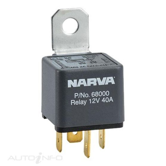 RELAY 12V 4 PIN 40 AMP