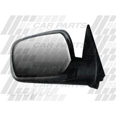 DOOR MIRROR - L/H - BLK MANUAL CNR MOUNT, , scanz_hi-res