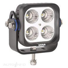 W/LAMP 4X10W LED SQUARE FLOOD, , scanz_hi-res
