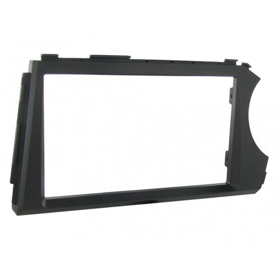 FITTING KIT SSANGYONG ACTYON UTE W/BRACKETS 12-17 DOUBLE DIN, , scanz_hi-res