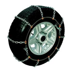 POLAR SNOW CHAINS COMPACT 4X4 GREEN YELLOW GREEN