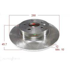 "Rotor 268x45.7x12 Rear Astra/Cruze 06/09-> 15"" Wheels, , scanz_hi-res"