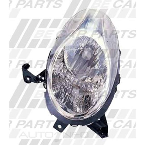 HEADLAMP - L/H - ELECTRIC