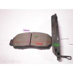 D787-7656=FMSI for Royale Brake Set  F  Honda Accord, Odyssey 99-
