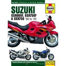 SUZUKI GSX600/750F & GSX750 1998 - 2002, , scanz_hi-res