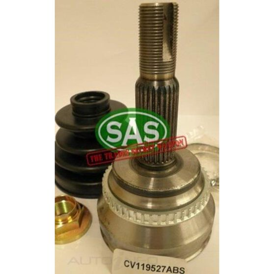 CV Joint 26/27X63 TOYOTA ABS 27.3MM F/H, , scanz_hi-res