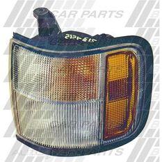 CORNER LAMP - R/H - AMB/CLR - RUBBER SRND, , scanz_hi-res