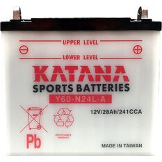 Y60-N24L-A Katana Motorcycle Battery, , scanz_hi-res