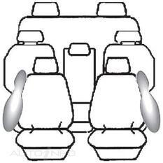 TOYOTA KLUGER GSU40R / GSU45R 7 SEAT WAGON (08/2007  09/2010) DEPLOY SAFE (CHARCOAL), , scanz_hi-res