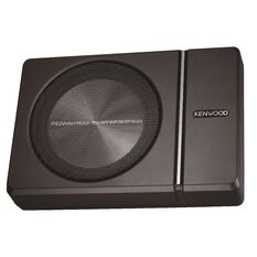 "KENWOOD 8"" ACTIVE UNDERSEAT SUBWOOFER"