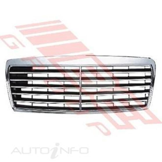 GRILLE - CHROME WITH BLACK, , scanz_hi-res