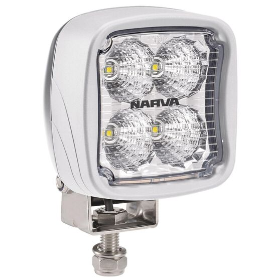 W/LAMP 9-64V LED MARINE SQUARE