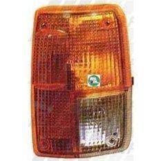 CORNER LAMP - LENS - L/H - AMBER/CLEAR, , scanz_hi-res