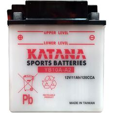 YB10A-A2 Katana Motorcycle Battery, , scanz_hi-res
