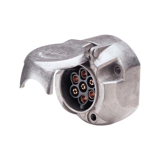 LARGE ROUND METAL TRAILER SOCKET 7 PIN, , scanz_hi-res