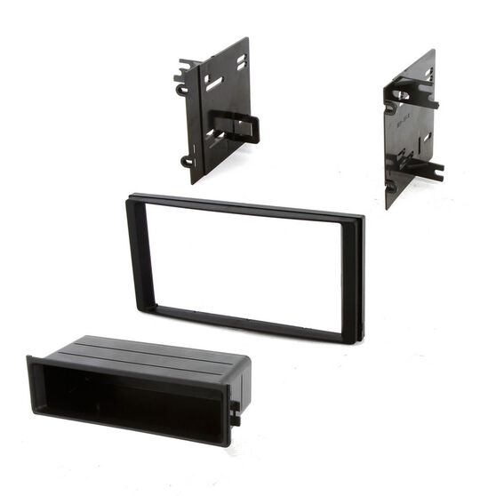 FITTING KIT SUBARU FORESTER/IMPREZA/WRX 2008 - 2014 DIN/DOUBLE DIN (WITH POCKET), , scanz_hi-res