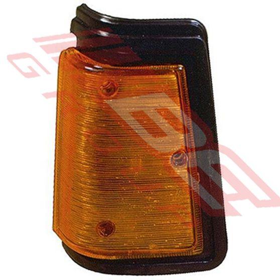 CORNER LAMP - L/H - BLACK