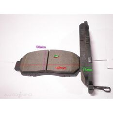 D787-7656=FMSI for Royale Brake Set  F  Honda Accord, Odyssey 99-