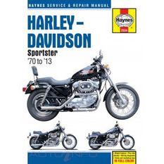 HARLEY-DAVIDSON SPORTSTERS  1970 - 2010, , scanz_hi-res
