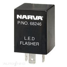 FLASHER 12V 3 PIN LED TYPE 1, , scanz_hi-res