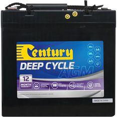 C12-55DA Century AGM Deep Cycle Battery, , scanz_hi-res