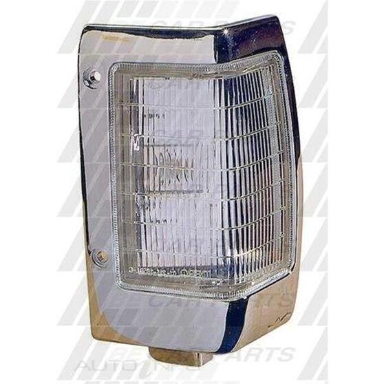 CORNER LAMP - R/H - CHROME