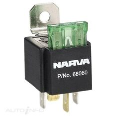 RELAY 12V 30A WITH FUSE, , scanz_hi-res