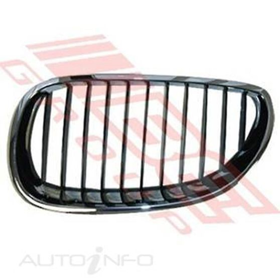 GRILLE - L/H - CHROME/BLACK