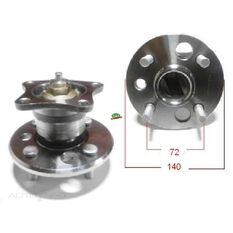 Toyota Corolla Various Rear Hub, , scanz_hi-res