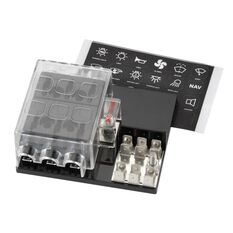 FUSE HOLD 6 WAY WITH SINGLE GROUNDING, , scanz_hi-res