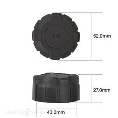 TRIDON RECOVERY RADIATOR CAP (TRS35), , scanz_hi-res