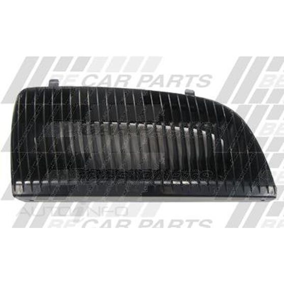 GRILLE - R/H - MAT BLACK, , scanz_hi-res