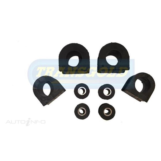 (DR) LANDCRUISER 80 SERIES 91-92 SWAY BAR RUBBERS FRONT &REAR, , scanz_hi-res