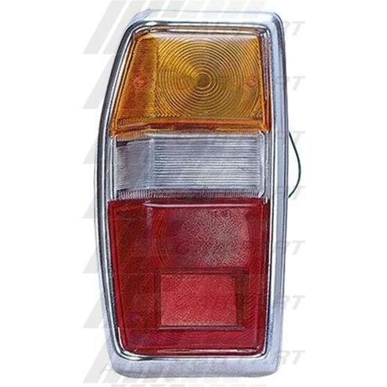 REAR LAMP - L/H - CHROME RIM, , scanz_hi-res