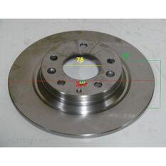 Rotor 280x40.8x10  Mazda 6 GG, CY Wagon, MX-5, Rear Rotor, , scanz_hi-res