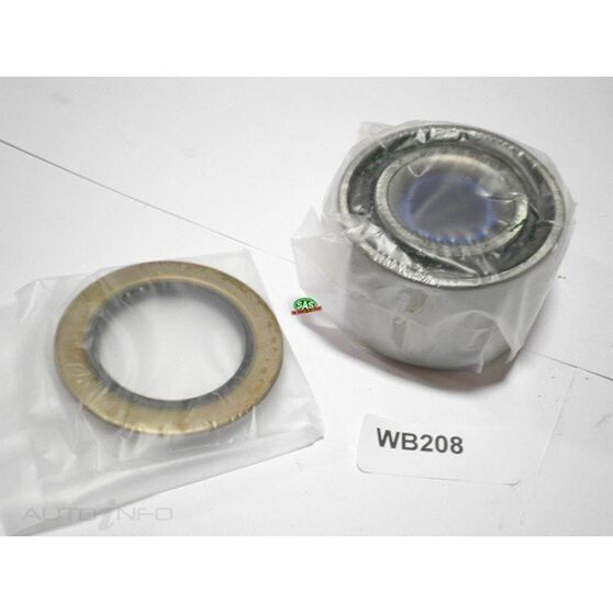 Toyota Altezza Front wheel bearing kit, , scanz_hi-res