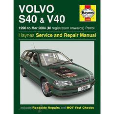 VOLVO S40 & V40 PETROL (1996 - 2004)