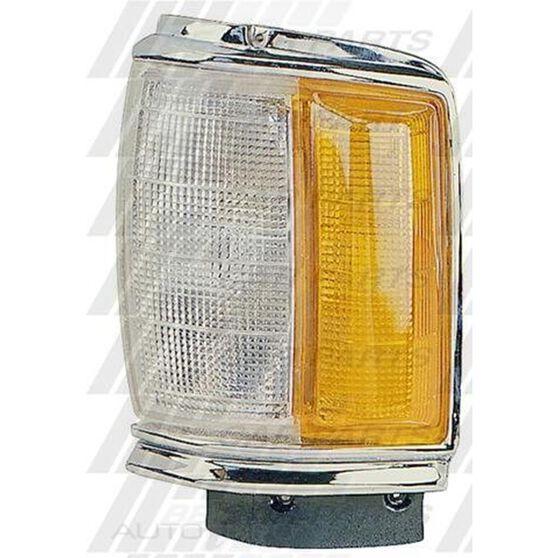 CORNER LAMP - L/H - CHRM SURROUND, , scanz_hi-res