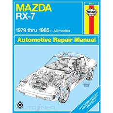 MAZDA RX-7 HAYNES REPAIR MANUAL COVERING ALL MAZDA RX-7, GS, GSL AND GSL-SE (1979 THRU 1985), , scanz_hi-res