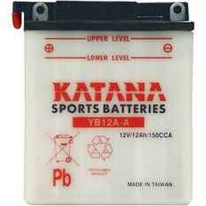 YB12A-A Katana Motorcycle Battery, , scanz_hi-res