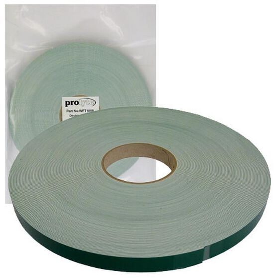 TAPE WHITE FOAM DOUBLE SIDED 18 X 1MM 50MTR ROLL, , scanz_hi-res