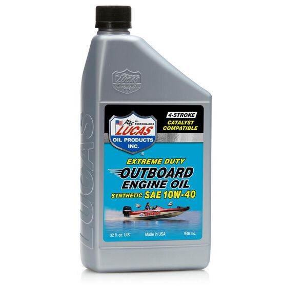 SAE 10W40 SYNTHETIC OUTBOARD ENGINE OIL