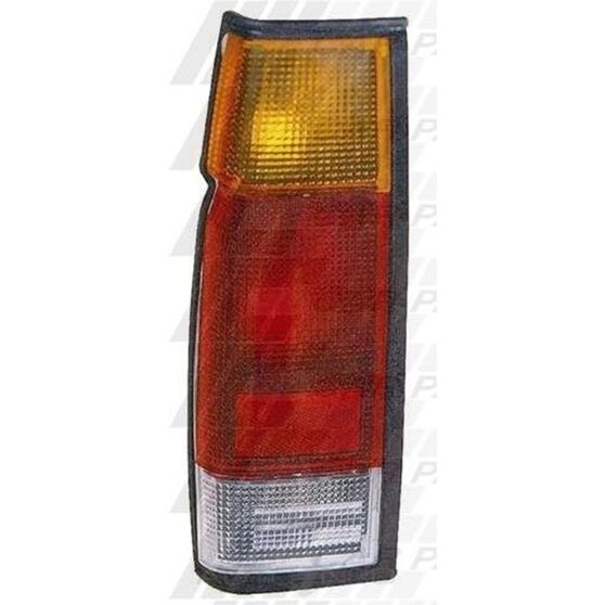 REAR LAMP - L/H - BLACK TRIM