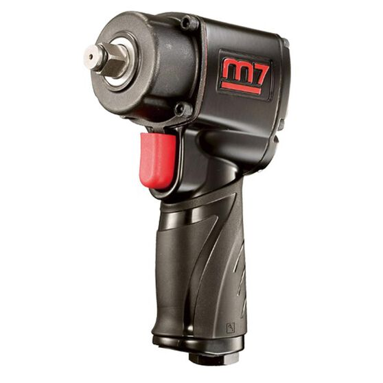 """M7 AIR IMPACT WRENCH 1/2"""" DRIVE JUMBO HAMMER QUIET 400FT, , scanz_hi-res"""